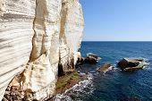 foto of grotto  - Rosh HaNikra  - JPG