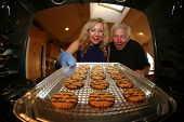 pic of cookie  - Hot and Fresh COOKIES right from the oven - JPG