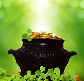 image of saint patrick  - St Patricks day background  - JPG