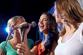 stock photo of singing  - party - JPG