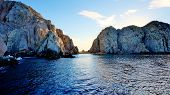picture of cortez  - With sunset approaching in Cabo San Lucas - JPG