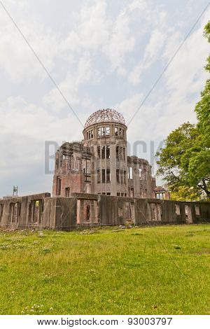 Atomic Bomb Dome In Hiroshima, Japan. Unesco Site