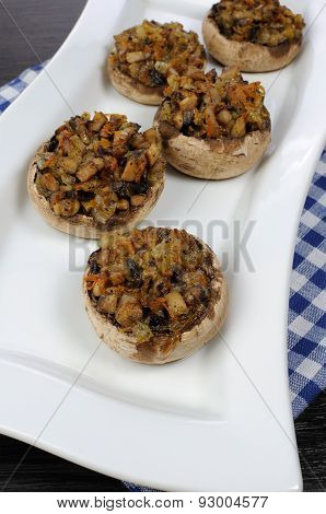 Stuffed Champignons