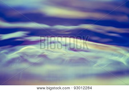 Abstract Background Of Moving Water Surface