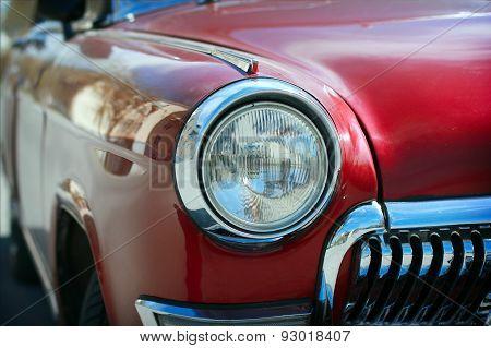 Classic Soviet Sedan