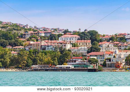 Summer Landscape Of Balchik, Bulgarian Resort