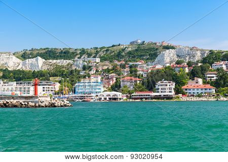Coastal Landscape Of Balchik Resort Town