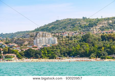 Summer Panoramic Landscape Of Balchik