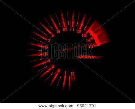 Automobile Tachometer Speedometer