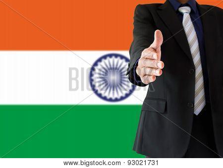 Handshake In Indian