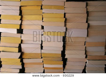 Piled Books 3
