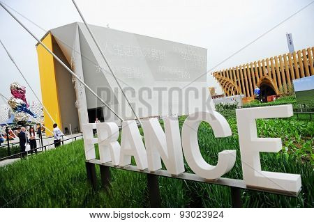France Pavilion At Expo Milano 2015