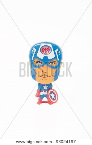 Captain America Kinder Surpise Toy