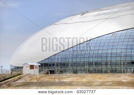 Sochi. Stadium Bolshoy Ice Dome
