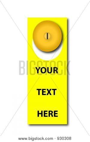 Door Hanger Graphic
