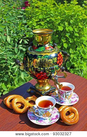 Tea And A Samovar