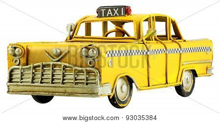 Vintage Toy Taxi