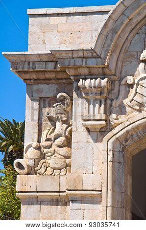 Porta Mare. Barletta. Puglia. Italy.