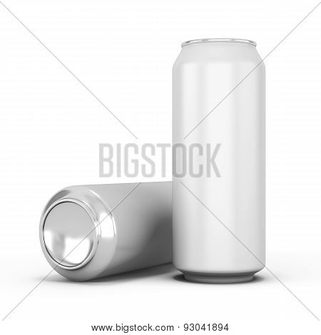 Two Aluminum Can For Beer