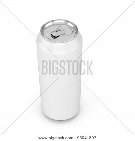 White Aluminum Can For Cola