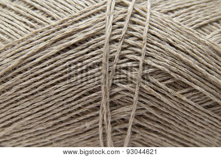 Lilnen Knitting Yarn Background