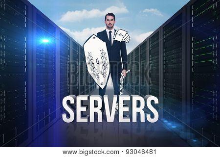 Corporate warrior against servers