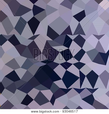 Licorice Black Abstract Low Polygon Background