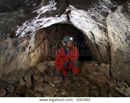 Höhle Durchgang