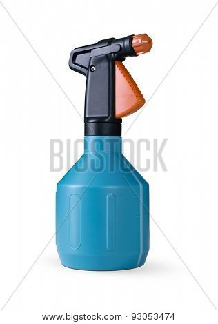 Spray bottle with a measured scale -Clipping path