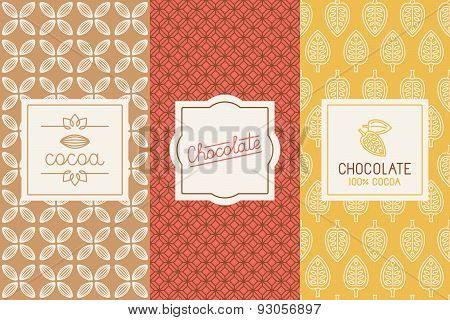 Chocolate And Cocoa Packaging