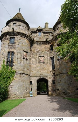 Falkland Palace Entrance