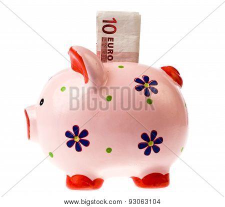 savings in coin bank