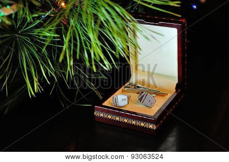 Cufflinks In Box