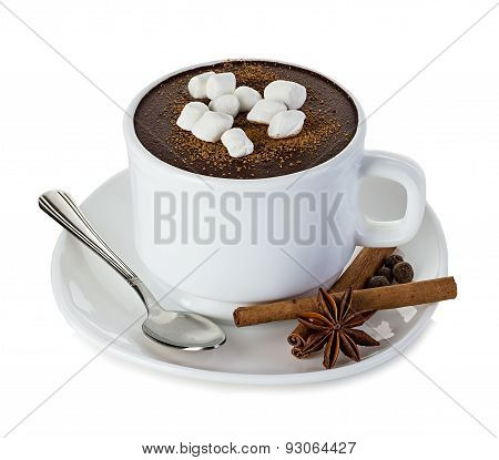 Hot Chocolate Isolated