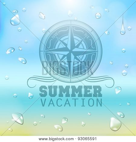 Summer Typography Background