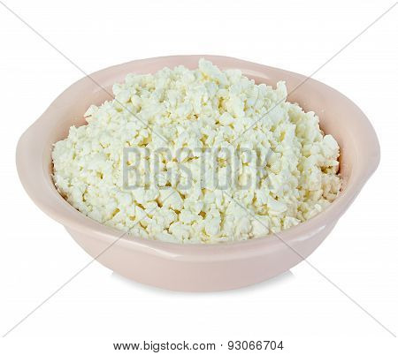 Cottage Cheese. Curd