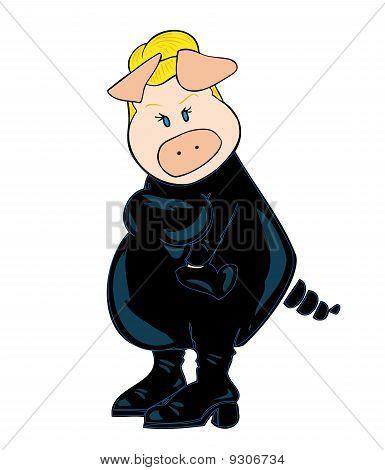 Burglar Pig.