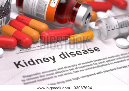Kidney Disease - Medical Concept.