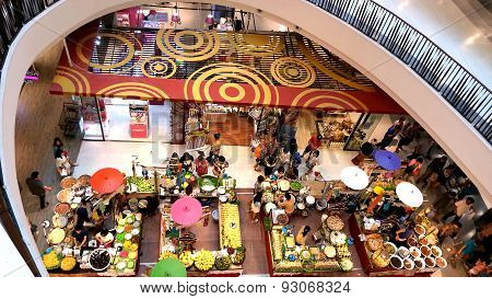 Food Market In Central Festival Department Store At Chiangmai, Thailand