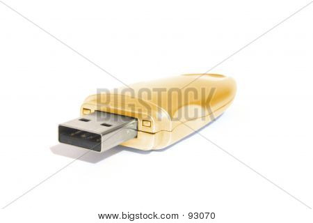Golden USB Memory Stick