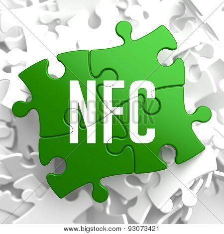 NFC on Green Puzzle.
