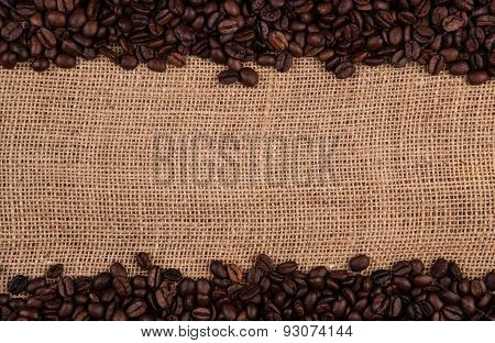 Roasted Coffee Beans On The Bag