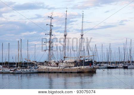 Historic Ship In Valencia