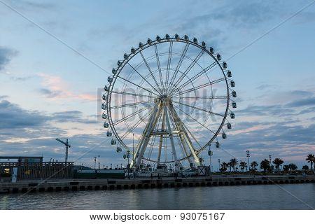 Ferris Wheel In Valencia, Spain