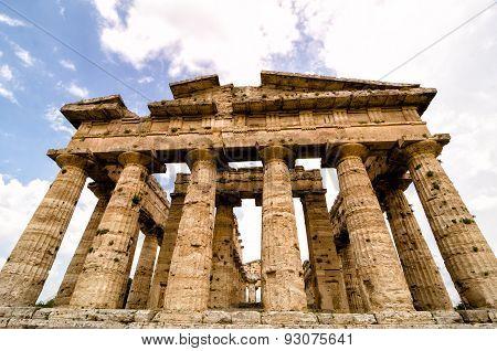 Temple Of Neptune, Paestum. Italy