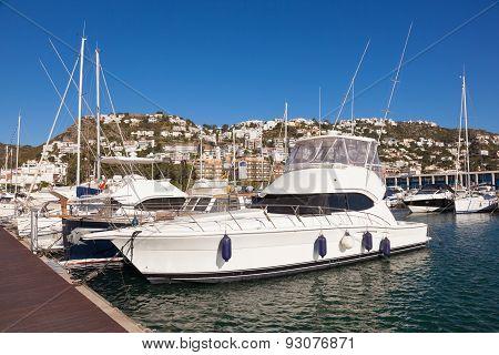 Marina In Roses, Spain