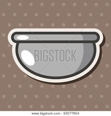 Kitchenware Bowl Theme Elements