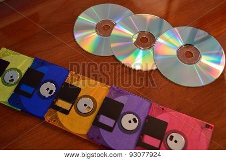 Floppy Disks And Cd's