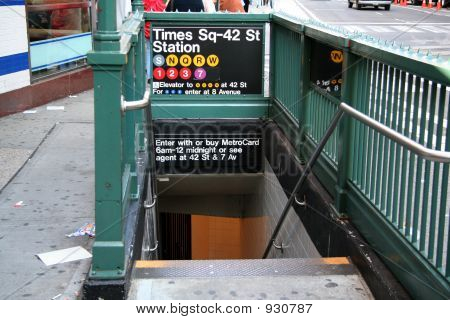 New York Subway Station