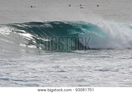 Waves in Australia